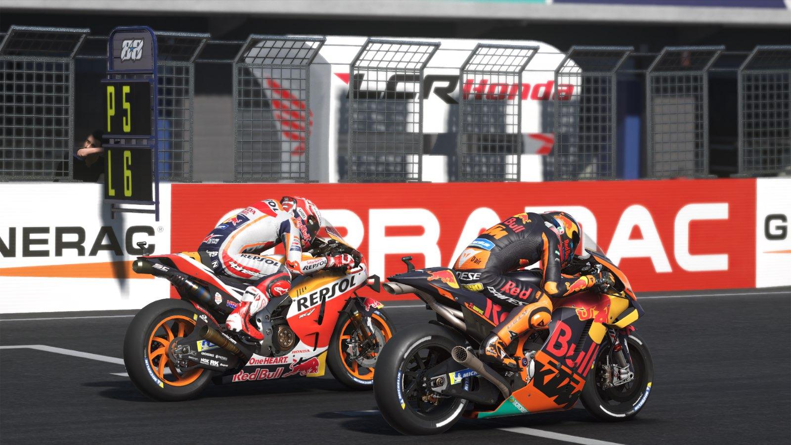 MotoGP20 Videogame - Graphic Editors